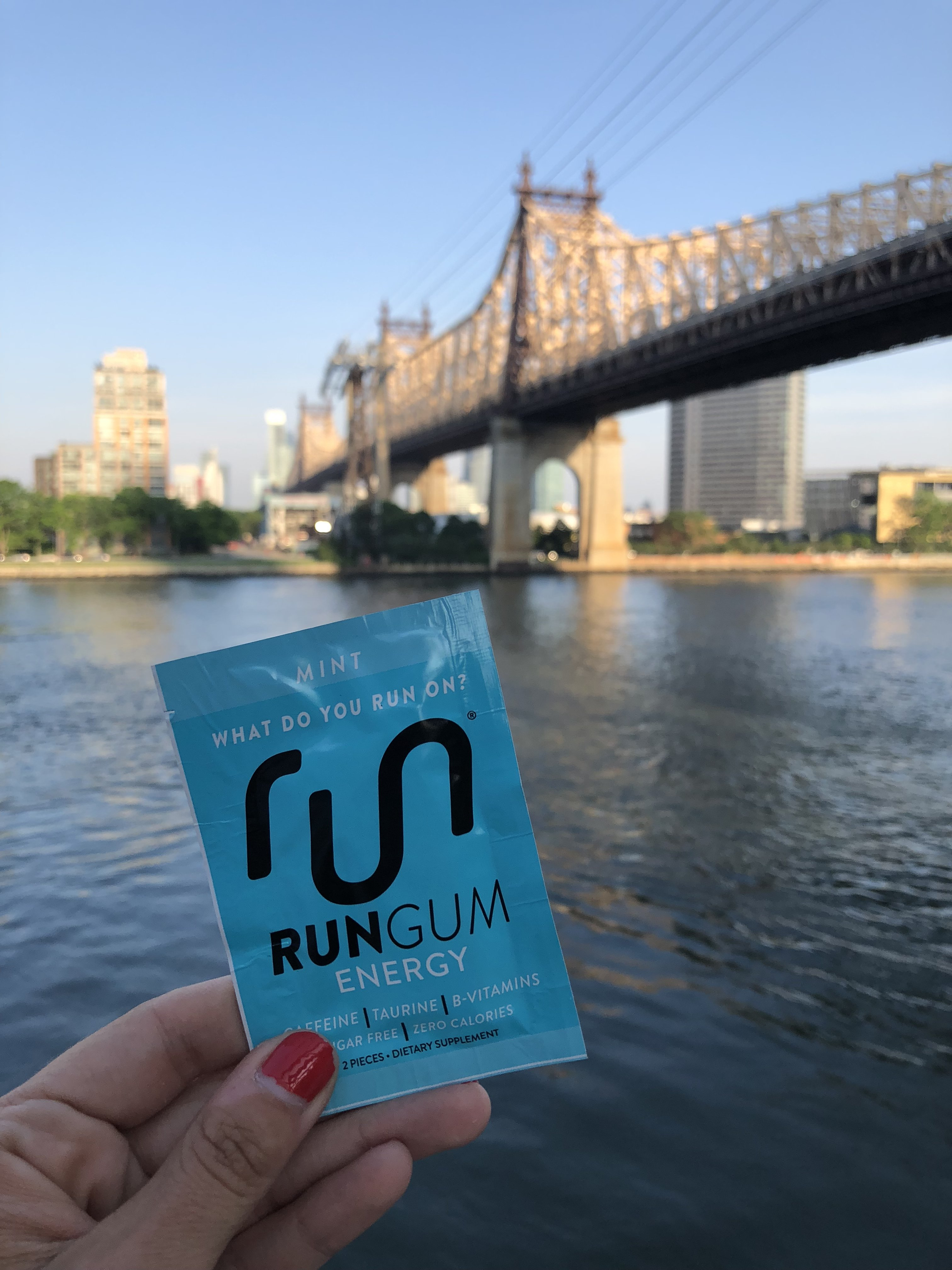 I Tried Powering My Runs With Caffeinated Gum—Check Out My