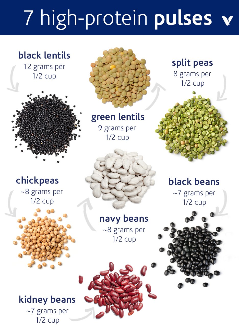 7 Pulses That Are High In Protein What S Good By V